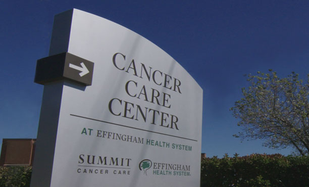 Cancer Care Center at Effingham Health System signage