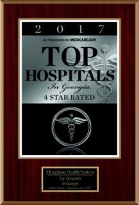 Medicare.gov Top Hospital Plaque for EHS