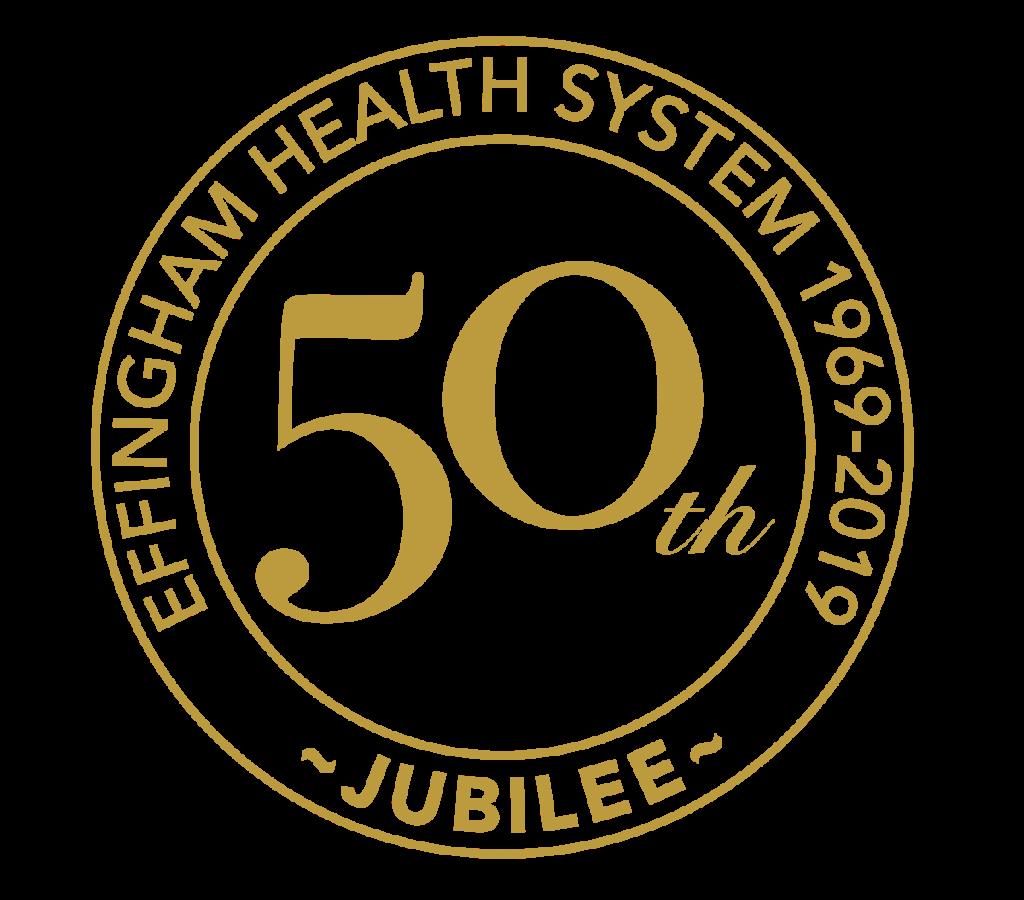 Effingham Health System 50th Anniversary Seal